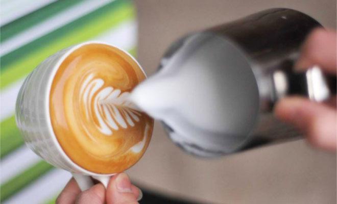 花式咖啡的制作方法